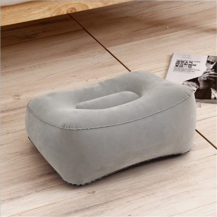 Foot Rest Pillow Portable and Inflatable