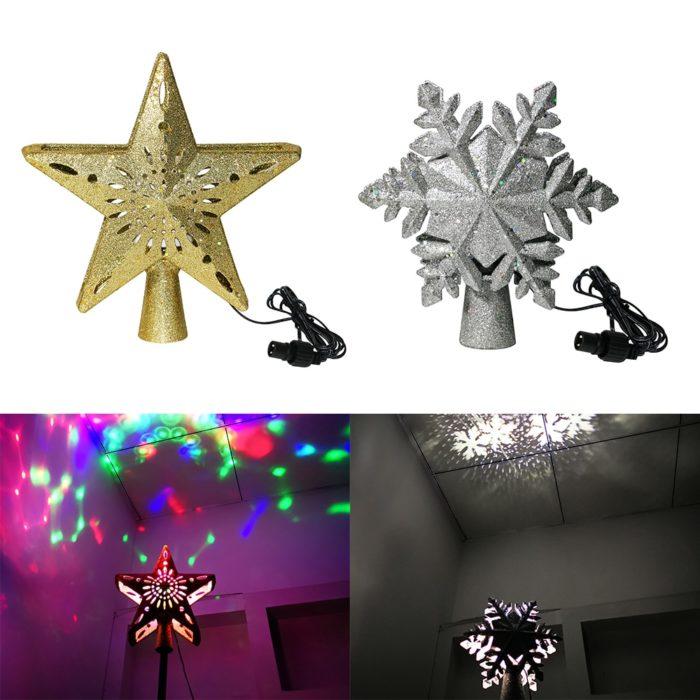 LED Christmas Tree Topper Christmas Decor