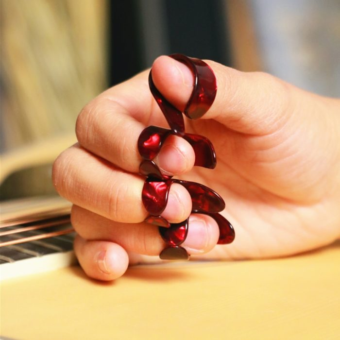 Finger Picks for Acoustic and Electric Guitar (4 PCs)