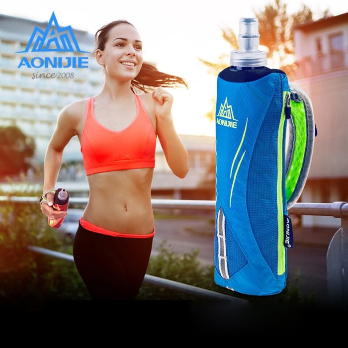 Handheld Running Water Bottle