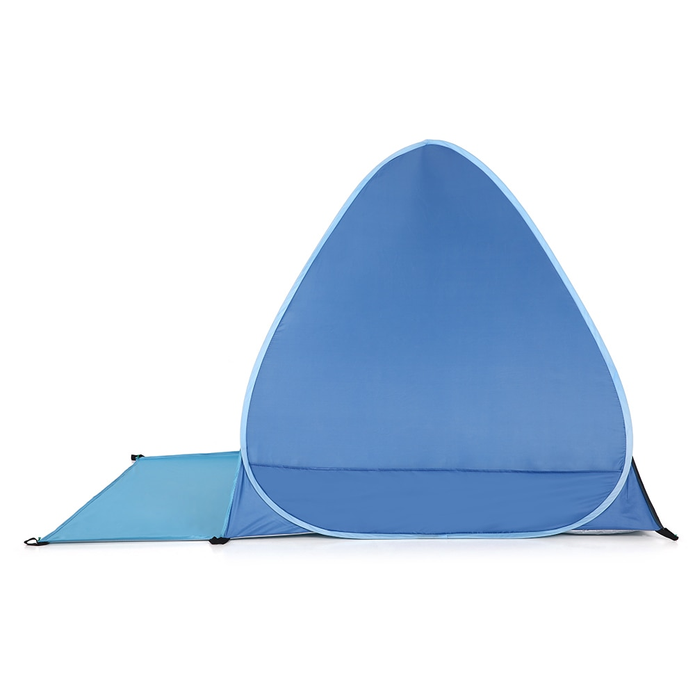 Automatic Instant Pop Up Beach Tent Lightweight Outdoor UV Protection Camping Fishing Tent Cabana Sun Shelter