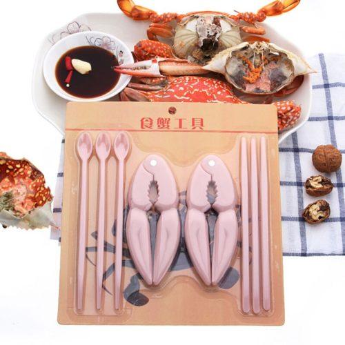 Crab Cracker Tools 8-Piece Set