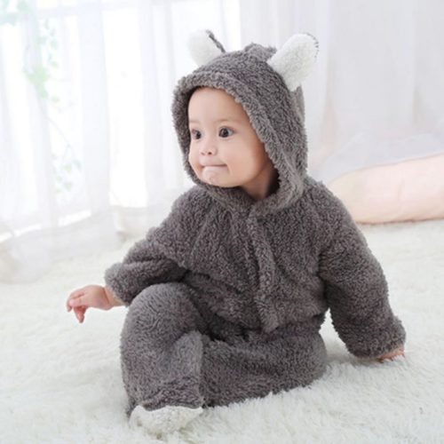 Teddy Bear Onesie Baby Wear