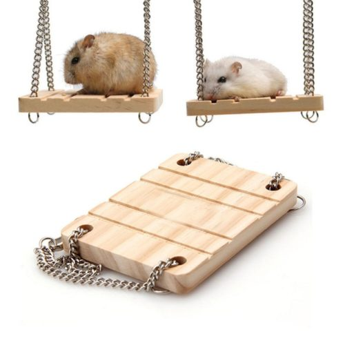 Hamster Swing Wooden Pet Hammock