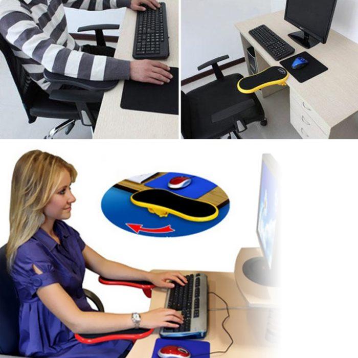 Arm Support for Desk Extension Armrest