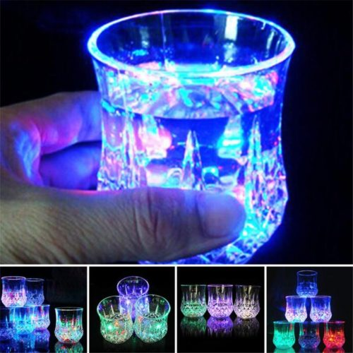 Light Up Glass LED Bar Drinking Cup