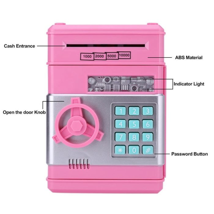ATM Savings Bank Toy Money Box
