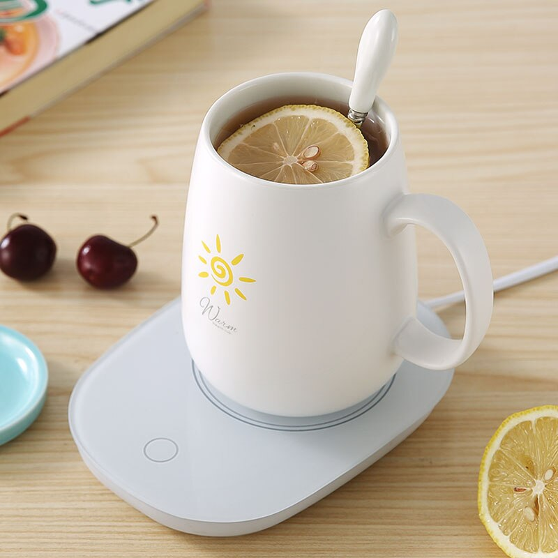 Coffee Mug Warmer Desktop Beverage Warmer Electric Cup Warmer Tea Water Cocoa Milk for Office Desk and Home Use 110V 35W Best Gift for Coffee