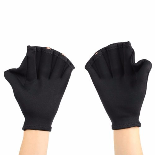 Webbed Swimming Gloves Hand Flippers