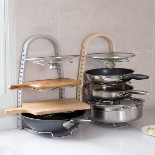 Lid and Pan Rack Organizer