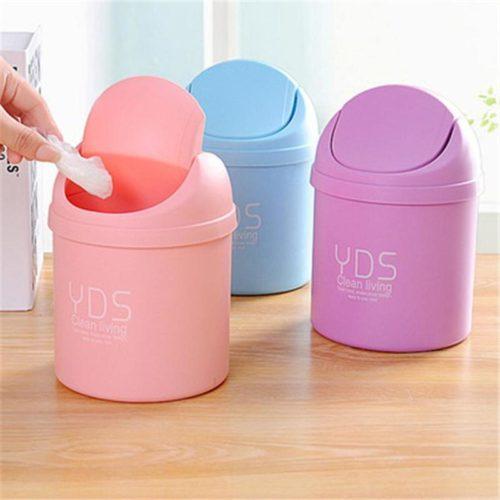 Desk Trash Can Mini Waste Bin