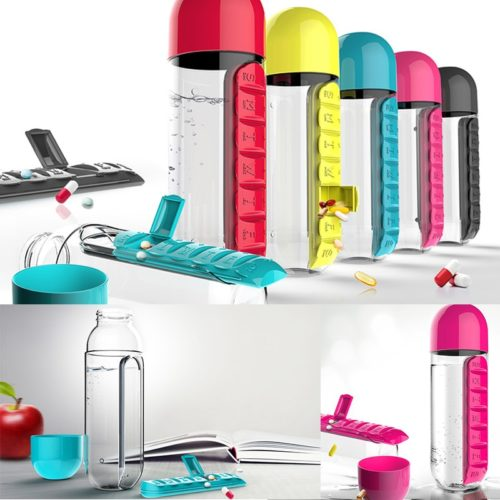 Medicine Bottle Organizer 600ml Bottle