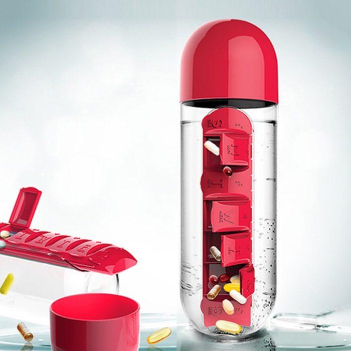 Medicine Bottle Organizer 600ml Bottle