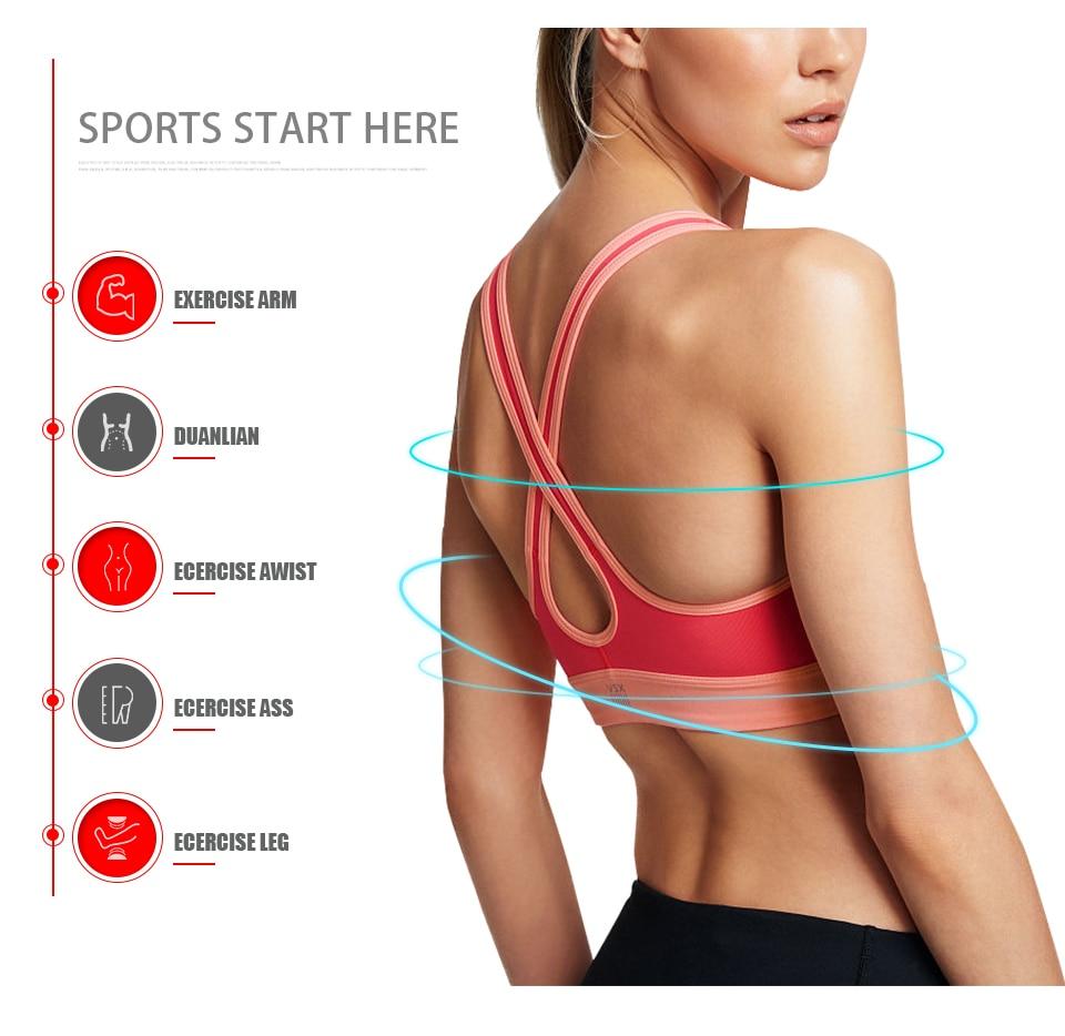 ProCircle Detachable Adjustable Muscle Roller Massage Stick for Yoga Block Deep Tissue Massage 3 Color