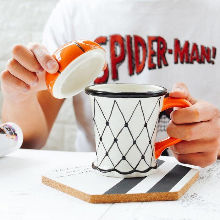 Basketball Mug Ceramic Cup with Handle