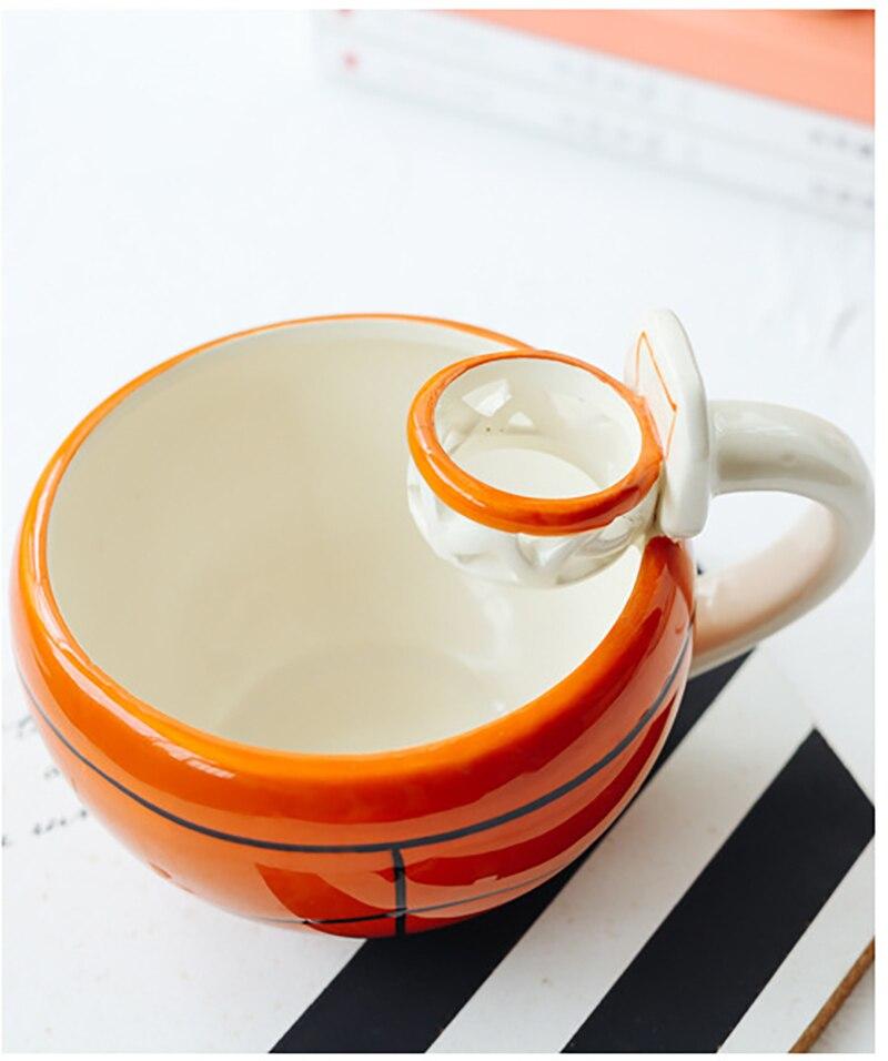 JOUDOO Creative Ceramic Water Cup Coffee Retro Flower Single Tea Coffee Cup Milk Business Gift Tableware Wedding Gift