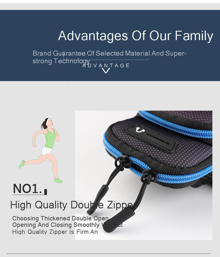 "Running Sports Phone Case Arm Band Bag For IPhone 11 Pro Max Xiaomi Huawei Samsung S20 P30 GYM Armbands 6.5""""For Airpods Bag"