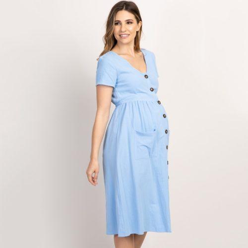 Cotton Maternity Dress For Women