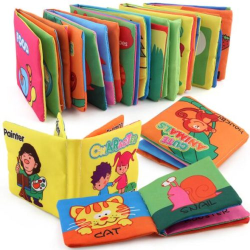 Baby Cloth Book Educational Toy