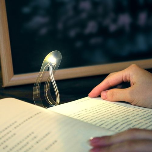 Bookmark Light Foldable Clip-On Light