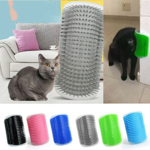 Cat Corner Brush Soft-Bristled Brush