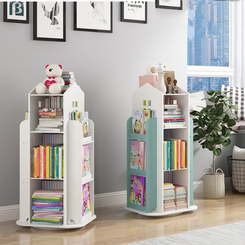 Kids 360 Degrees Rotating Bookshelf