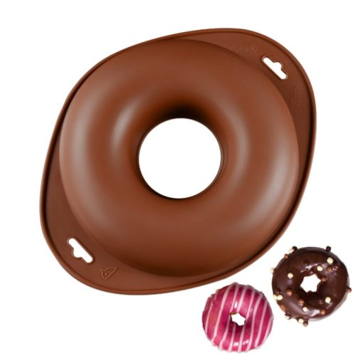 Donut Cake Pan Round Silicone Mold