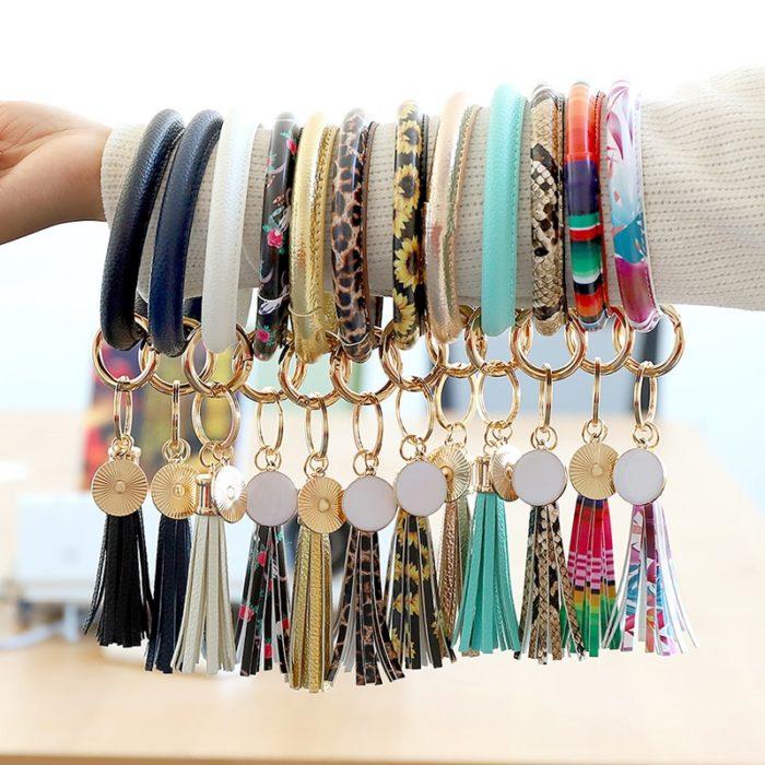 Key Holder Bracelet Fashion Bangle