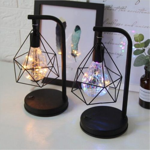 Geometric Table Lamp Modern Table Light
