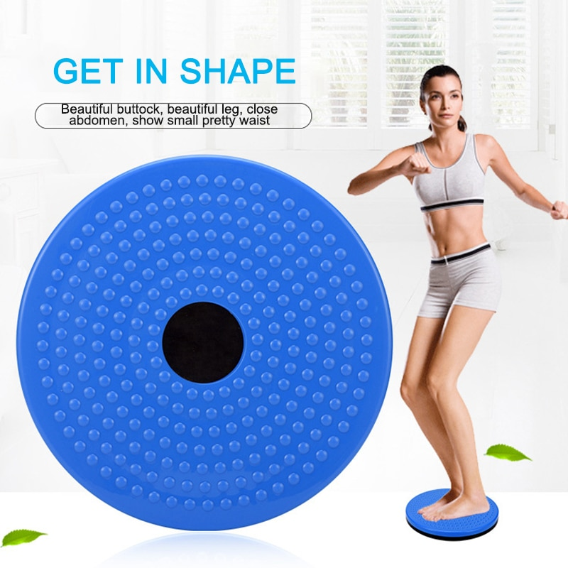 Fitness Waist Twisting Disc Balance Board Fitness body building for Sports Magnetic Massage Plate Wobble Waist Twisting Disc