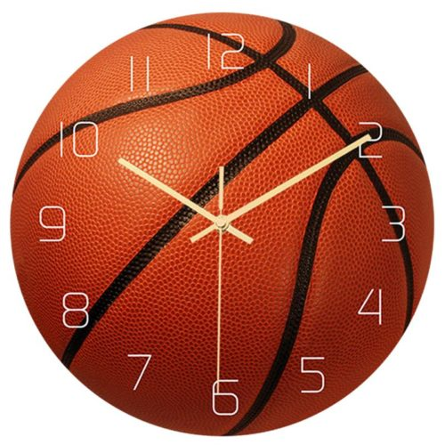 Basketball Clock Creative Analog Wall Clock