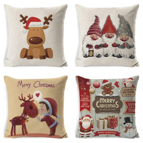 Christmas Pillowcase Holiday Home Decoration