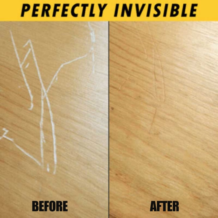 Newly 2 Pcs Instant Fix Wood Scratch Remover Repair Paint for Wooden Table Bed Floor