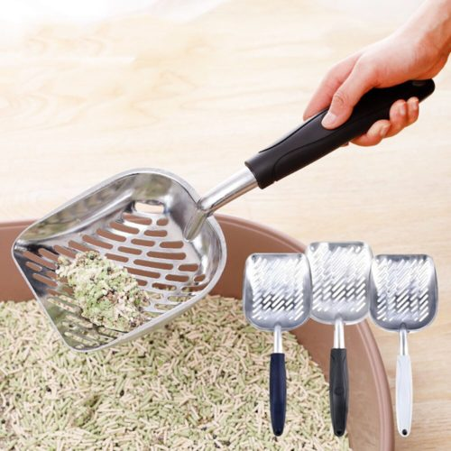 Metal Litter Scoop Cleaning Tool