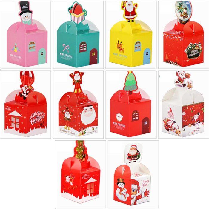 12 Pcs Christmas Sweet Boxes