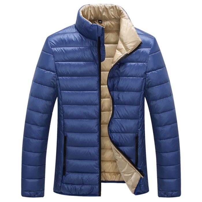 Duck Down Jacket For Men Casual Coat