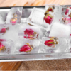 Metal Ice Cube Tray with Easy Release Lever