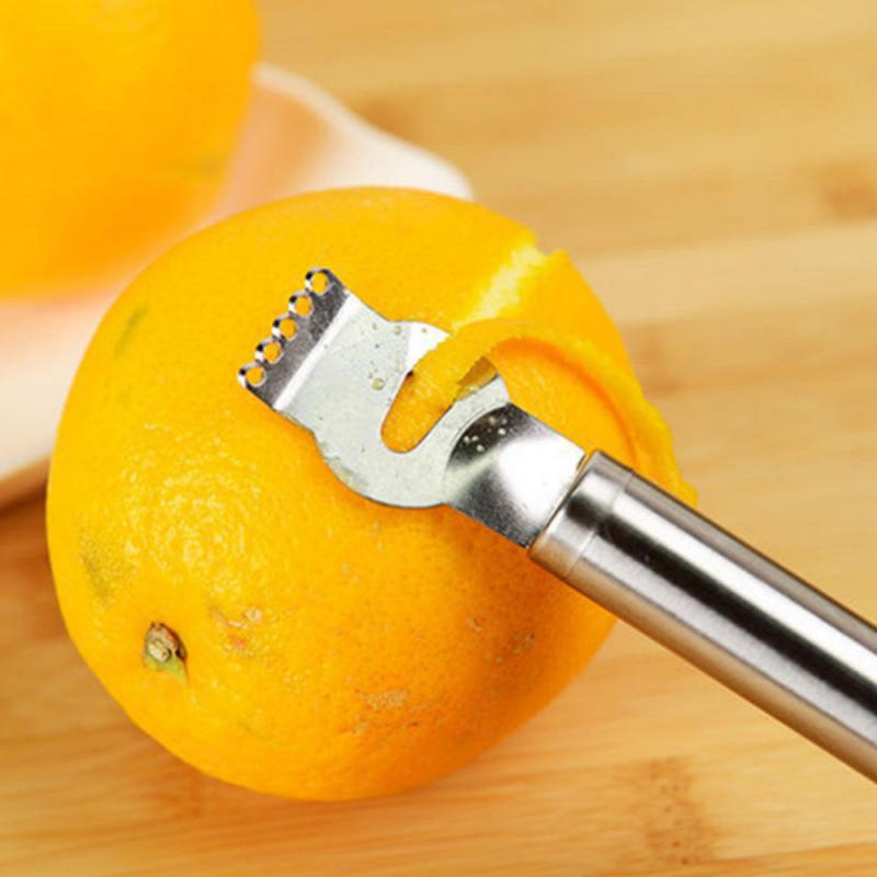 1 יחידות לימון לימון תפוזים פרי הדר קליפת גאדג 'טים מטבח מלאכת בר אביזרי כלים לקילוף סכין