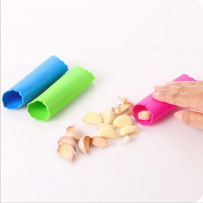 Garlic Roller Silicone Peeling Tool