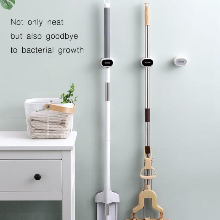 Broom Hanger Self-Adhesive Wall-Mount Hook