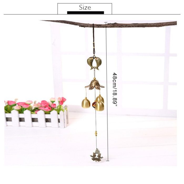 Metal Wind Chime Antique Home Decor