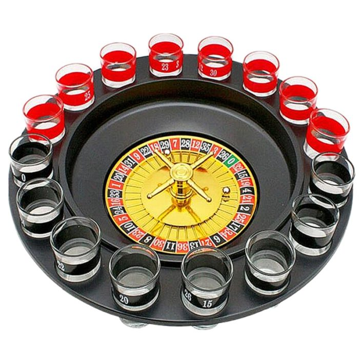 Drinking Roulette Set Party Game (16pcs)