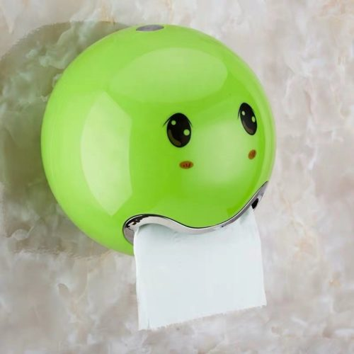 Funny Toilet Roll Holder with Stickers