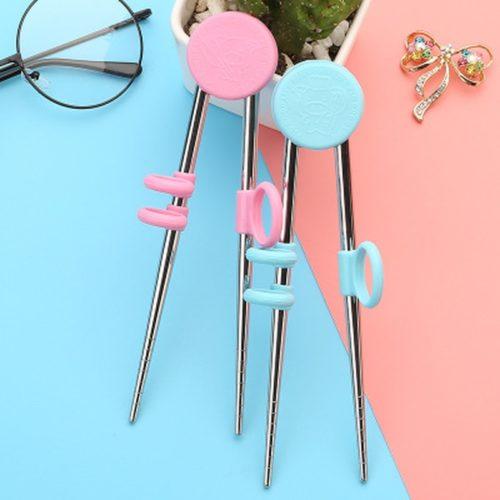 Chopsticks Trainer and Stainless Steel Chopsticks