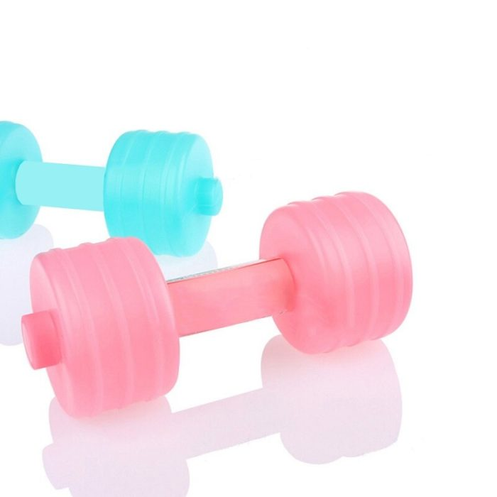 Dumbbell Bottle Exercise Water Container