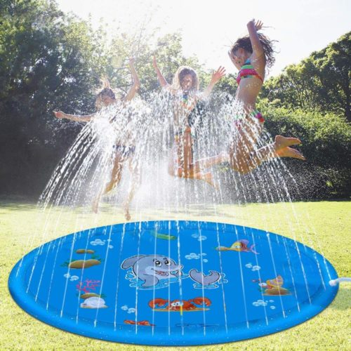 Water Play Sprinkler Kids Outdoor Mat
