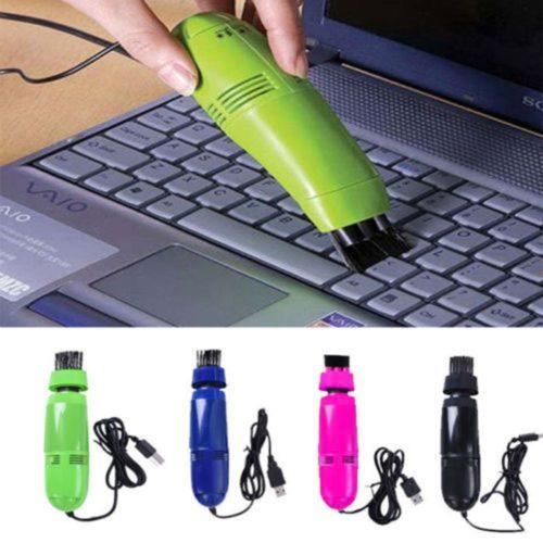Mini USB Vacuum Cleaner with Brush Nozzle