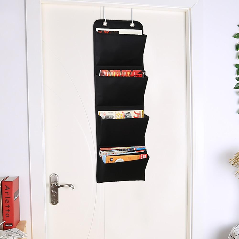 Document Hanging Storage Bag Oxford Cloth Storage Pocket Chart Hanging File Folding Holder Cascading Fabric Organizer For Office