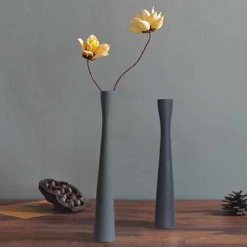 Ceramic Long Flower Vase