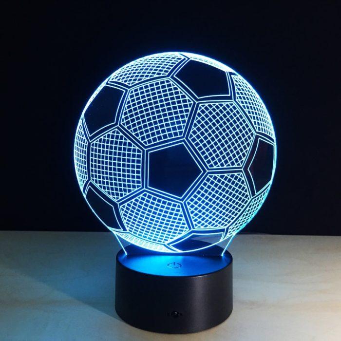 Soccer Lamp LED Changing Color Light